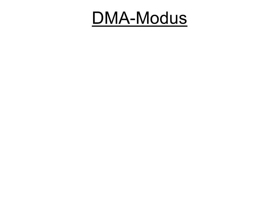 DMA-Modus
