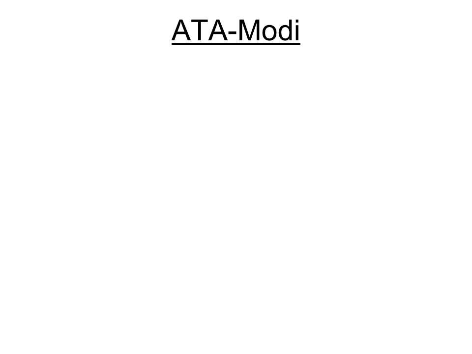 ATA-Modi
