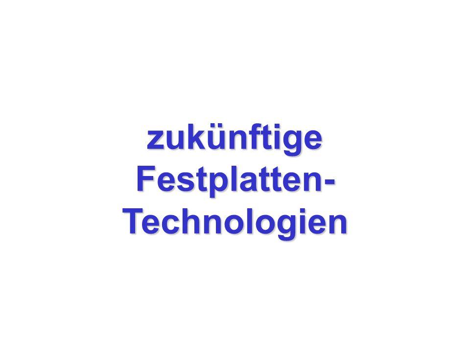 Festplatten-Technologien