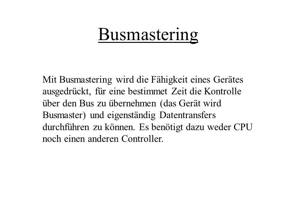 Busmastering