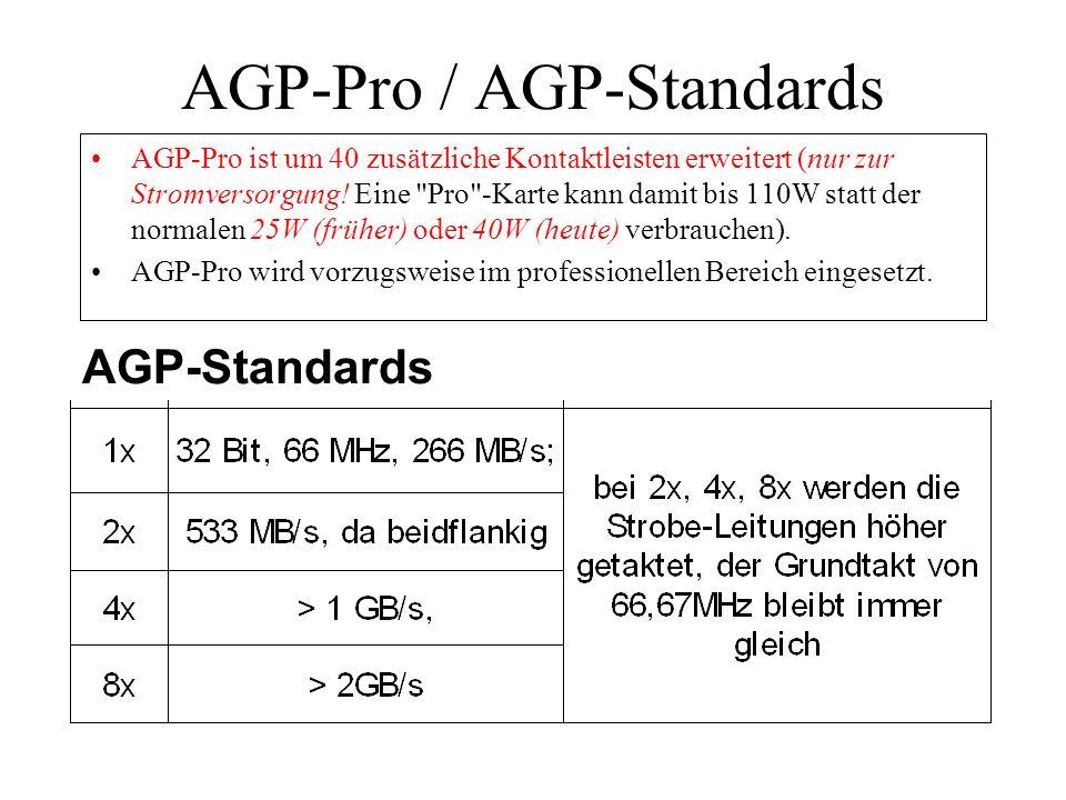 AGP-Pro / AGP-Standards