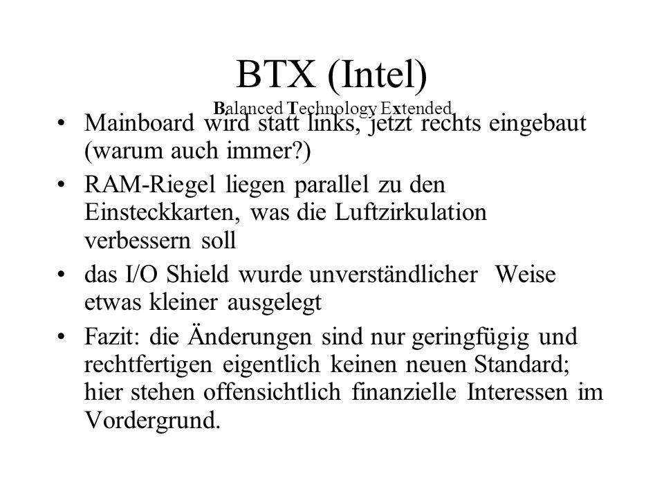 BTX (Intel) Balanced Technology Extended