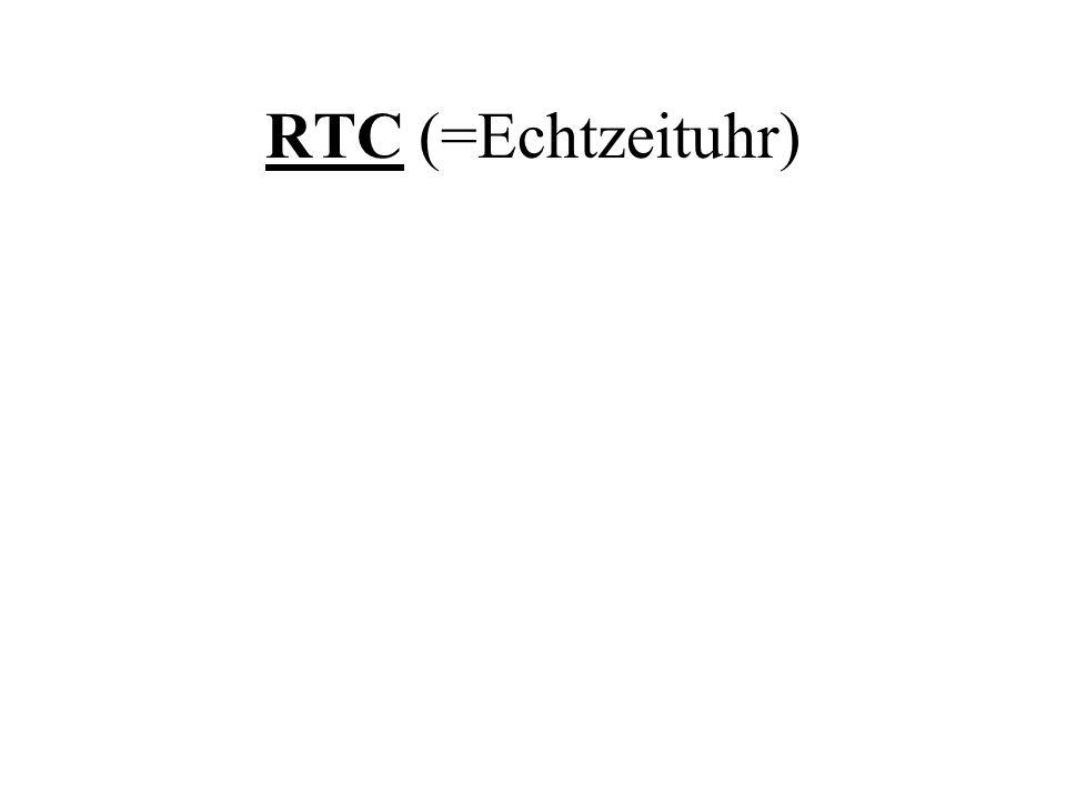 RTC (=Echtzeituhr)