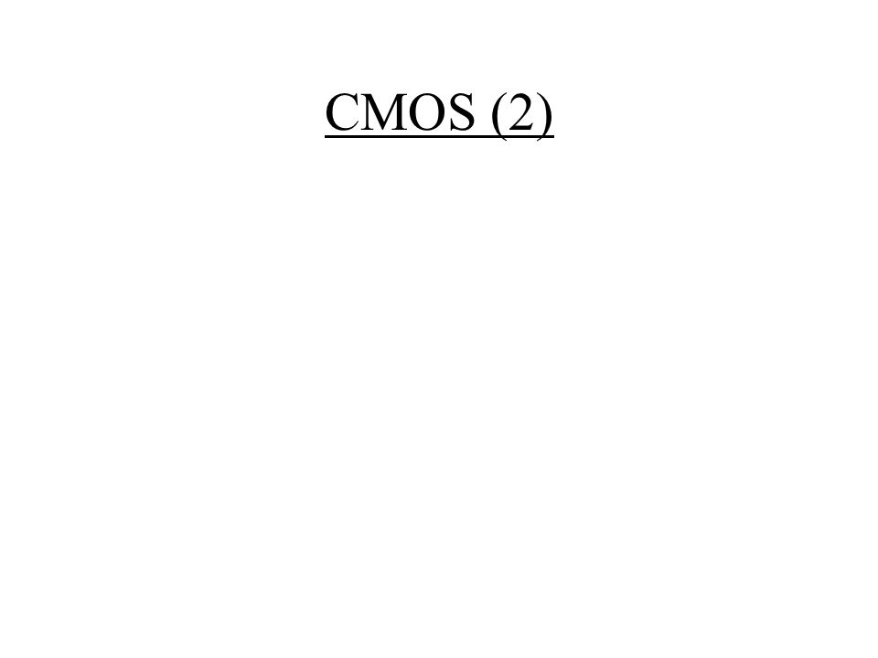 CMOS (2)