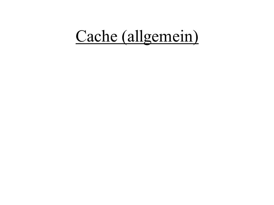 Cache (allgemein)