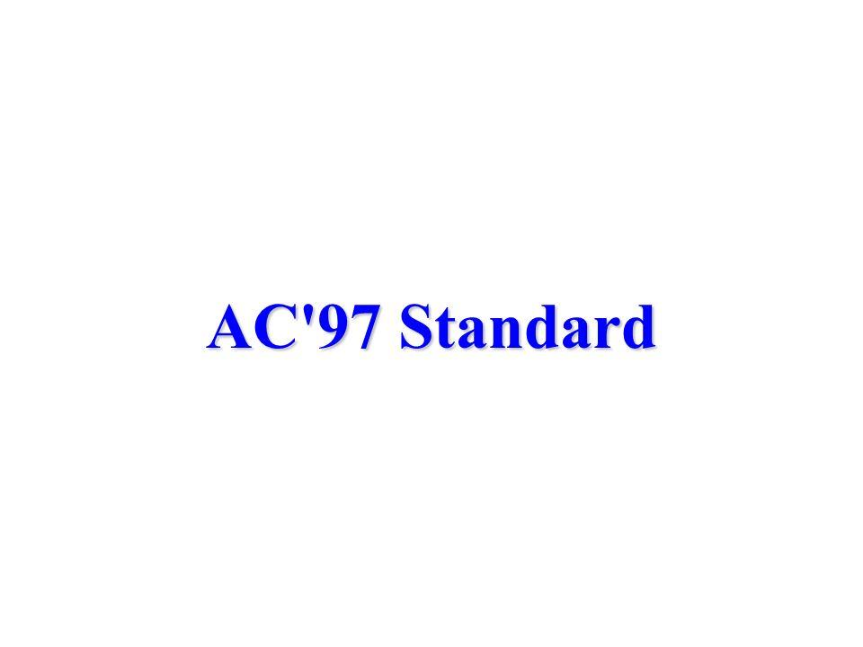 AC 97 Standard