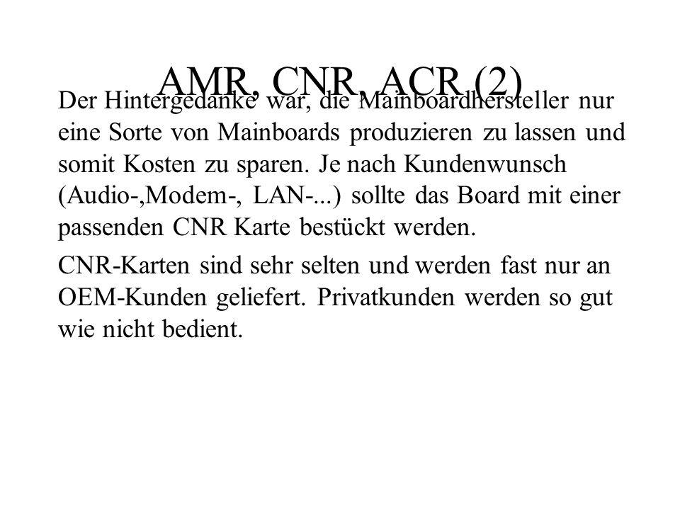 AMR, CNR, ACR (2)