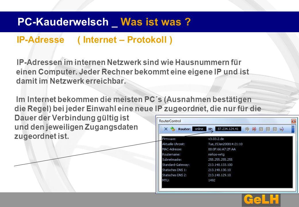 PC-Kauderwelsch _ Was ist was