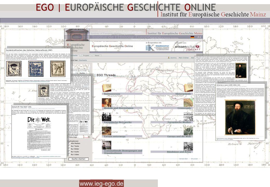EGO | EUROPÄISCHE GESCHICHTE ONLINE
