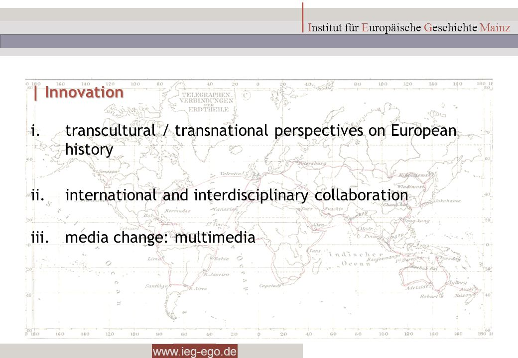 transcultural / transnational perspectives on European history
