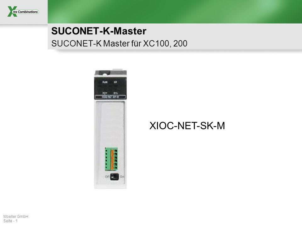 SUCONET-K-Master SUCONET-K Master für XC100, 200