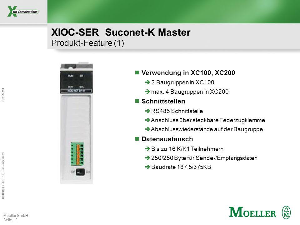 XIOC-SER Suconet-K Master