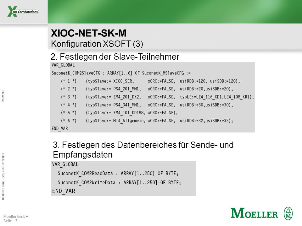 XIOC-NET-SK-M Konfiguration XSOFT (3)