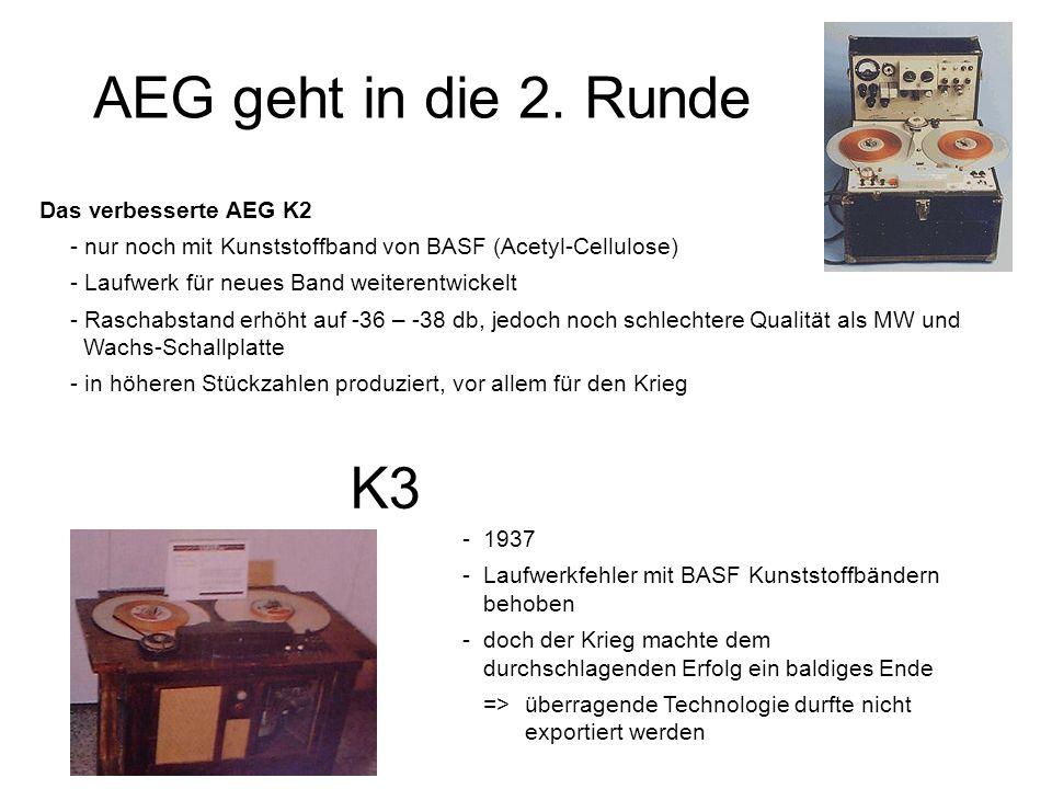 AEG geht in die 2. Runde K3 Das verbesserte AEG K2