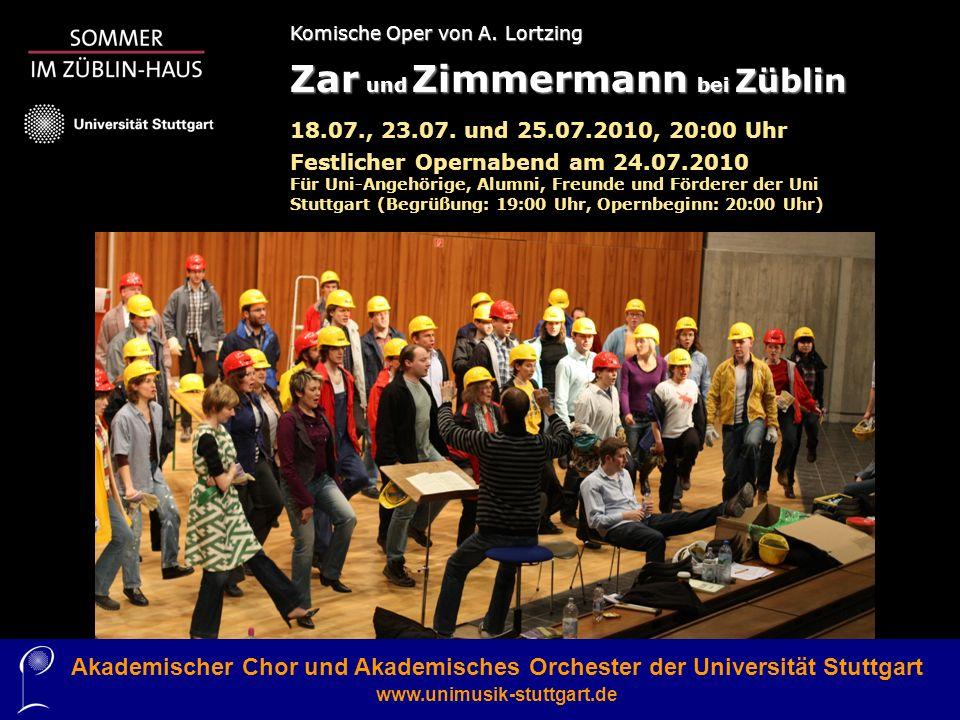 Akademischer Chor und Akademisches Orchester der Universität Stuttgart