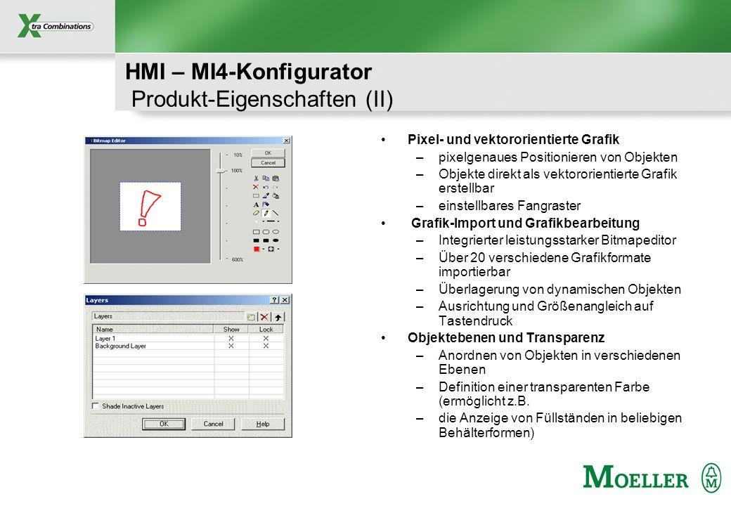 HMI – MI4-Konfigurator Produkt-Eigenschaften (II)
