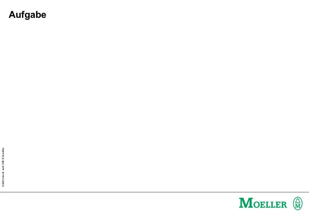 Aufgabe Arbeitsblatt Moeller XSystem - Grundlagen