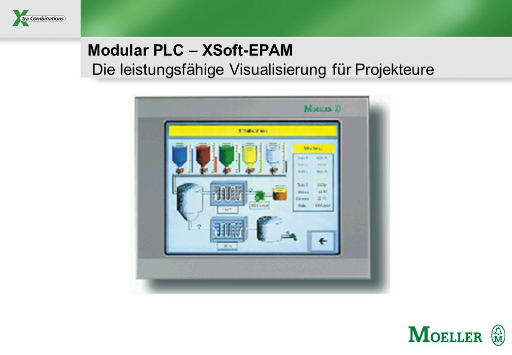 Modular PLC – XSoft-EPAM Die leistungsfähige Visualisierung für Projekteure