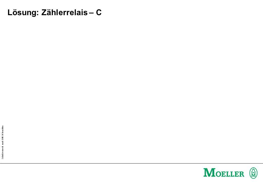 Lösung: Zählerrelais – C