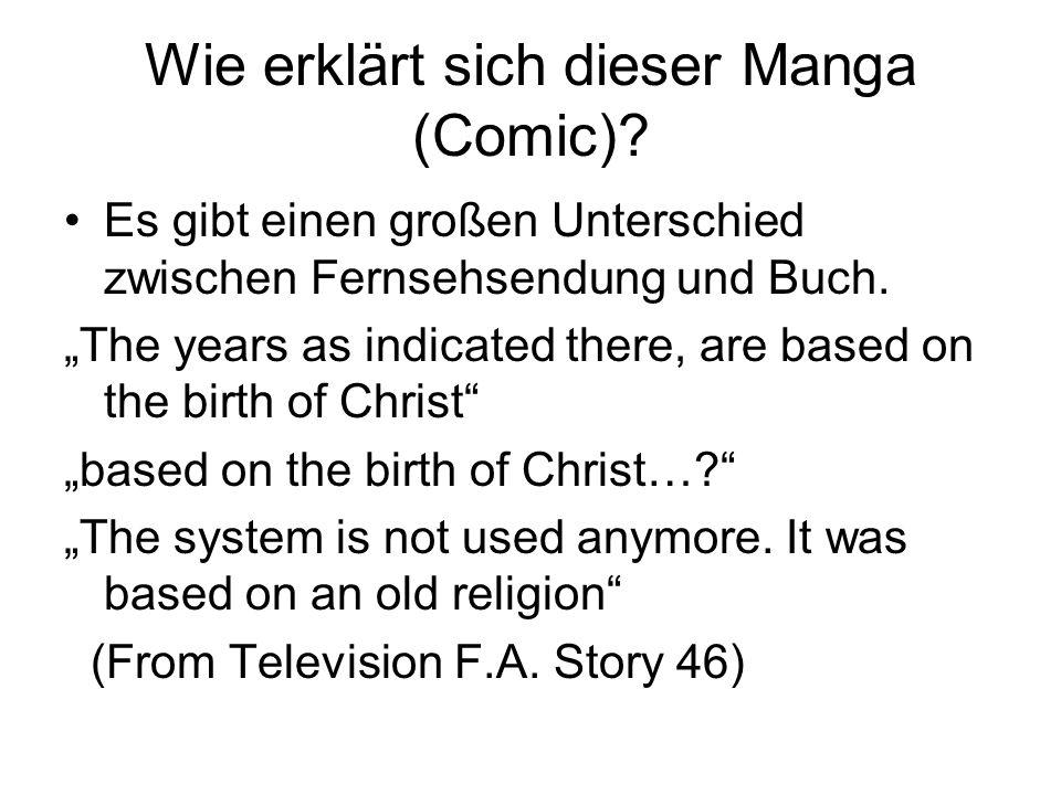 Wie erklärt sich dieser Manga (Comic)