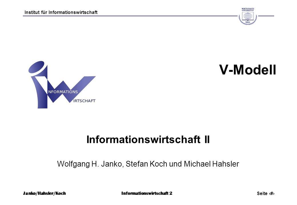 Informationswirtschaft II