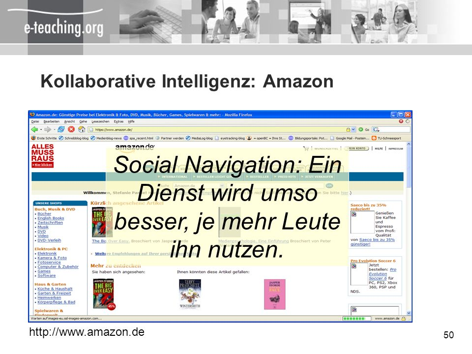 Kollaborative Intelligenz: Amazon