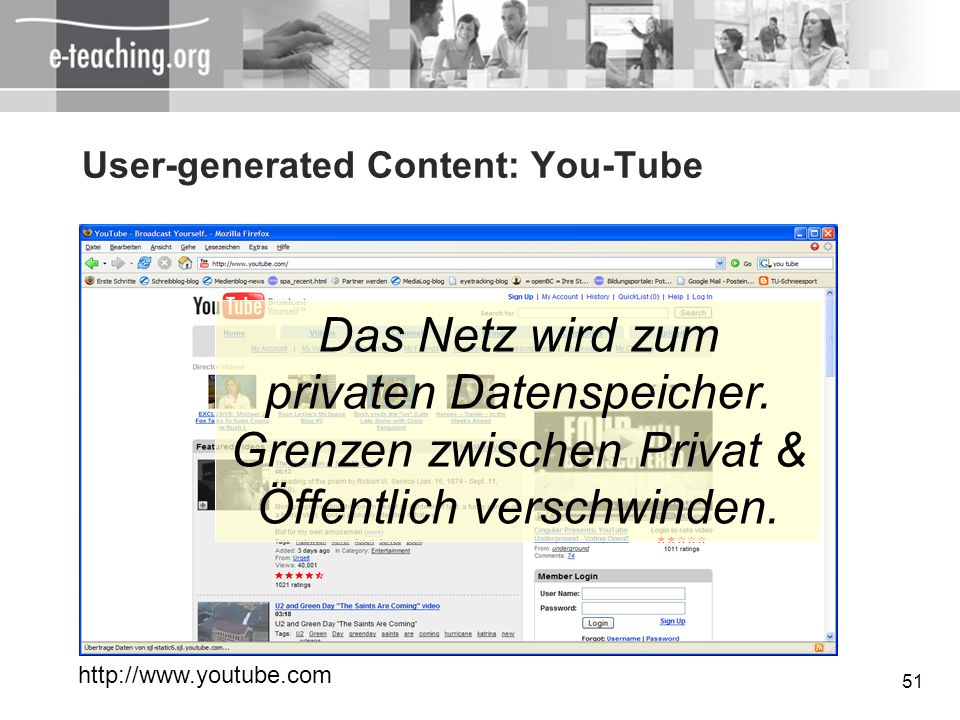 User-generated Content: You-Tube