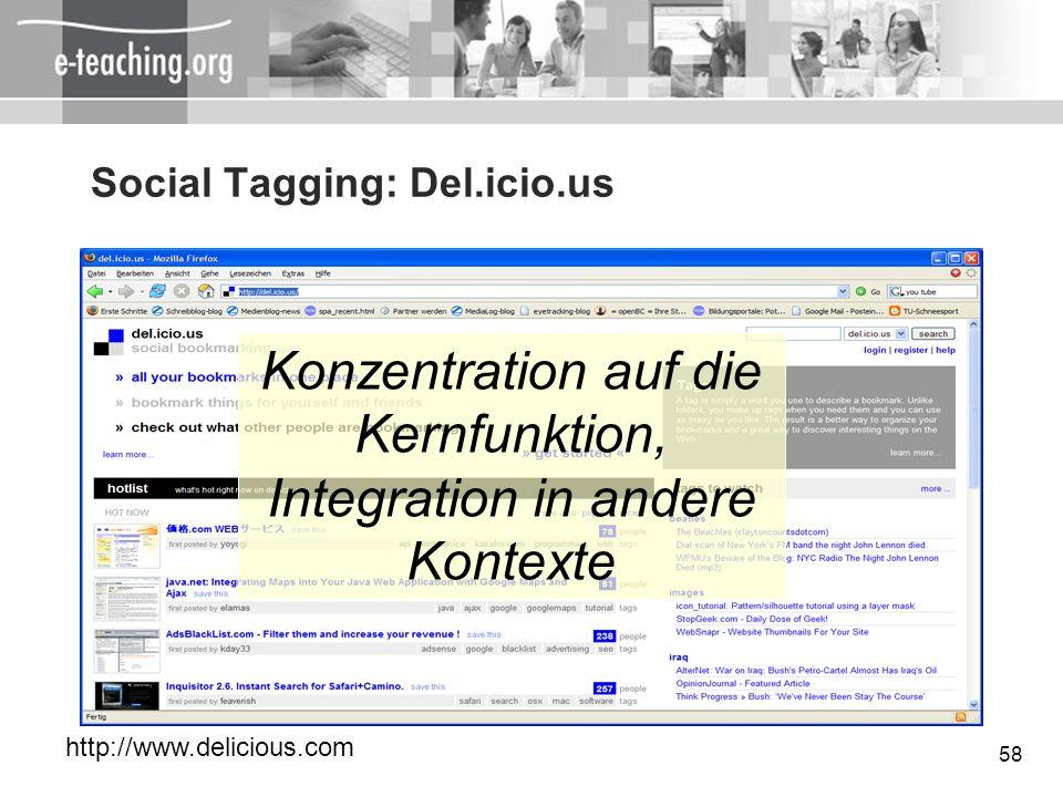 Social Tagging: Del.icio.us