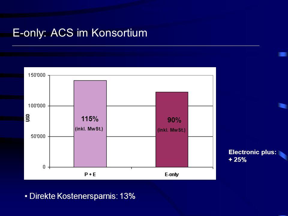 E-only: ACS im Konsortium