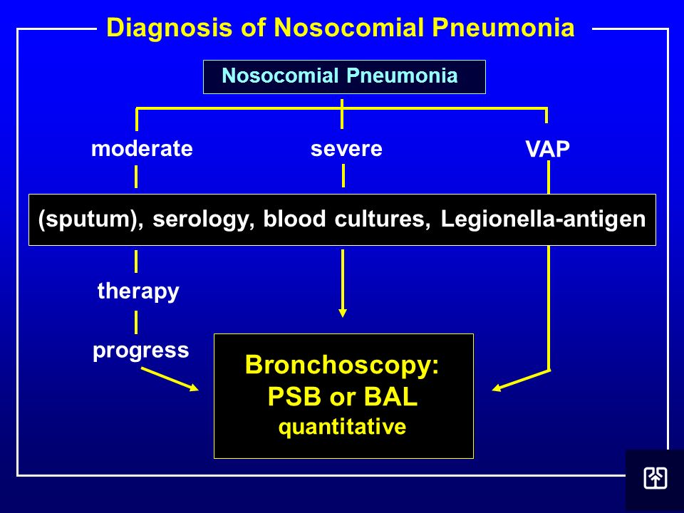 Diagnosis of Nosocomial Pneumonia