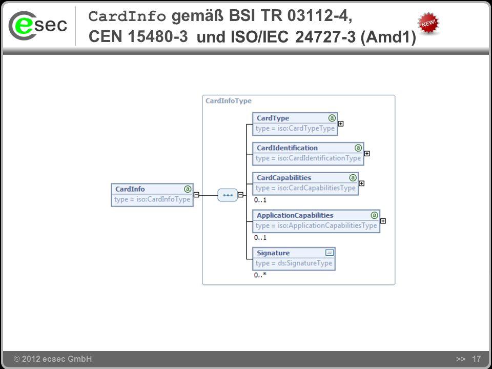 CardInfo gemäß BSI TR 03112-4, CEN 15480-3