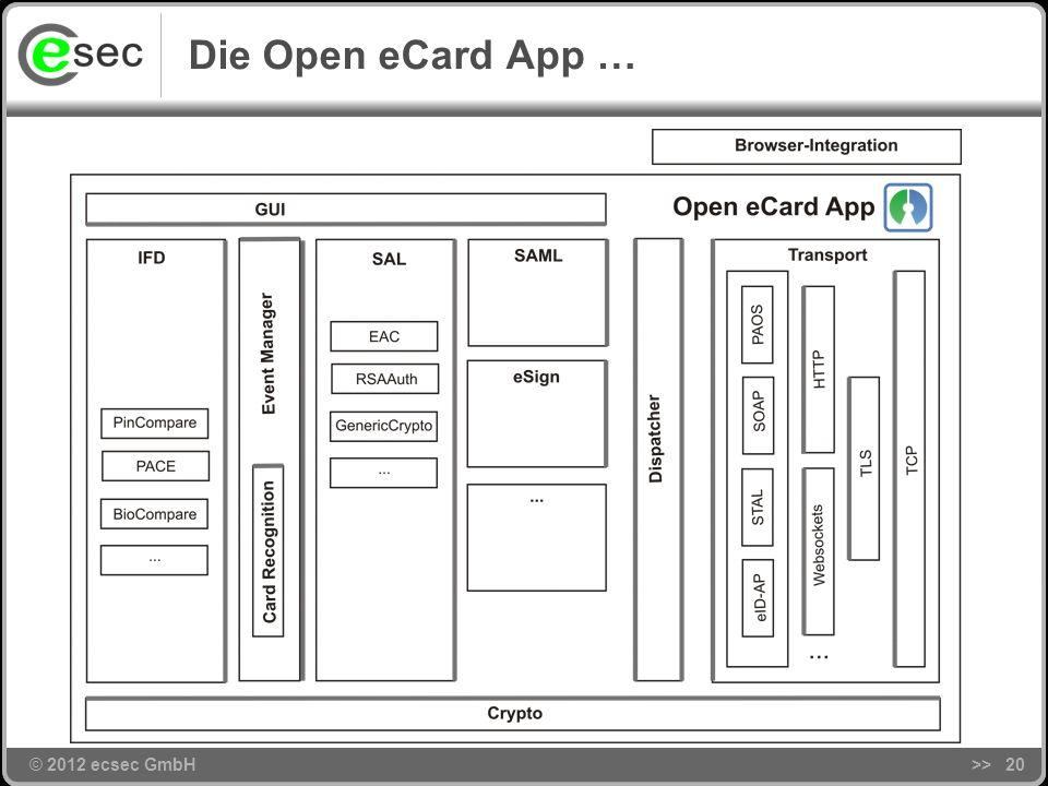 Die Open eCard App … >> 20