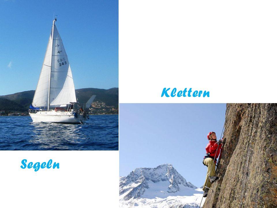 Klettern Segeln