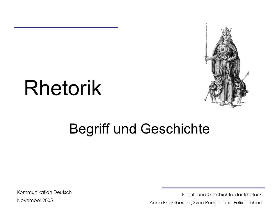 Begriff und Geschichte