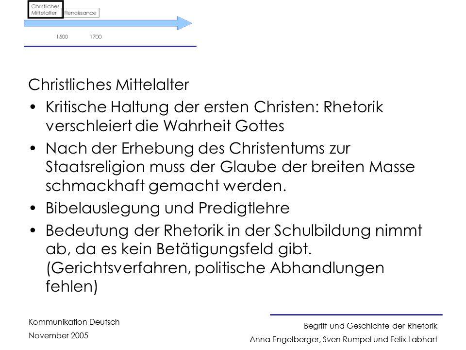Christliches Mittelalter