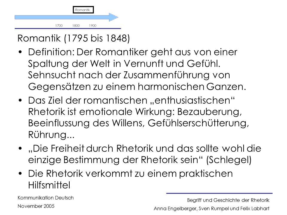 Romantik (1795 bis 1848)