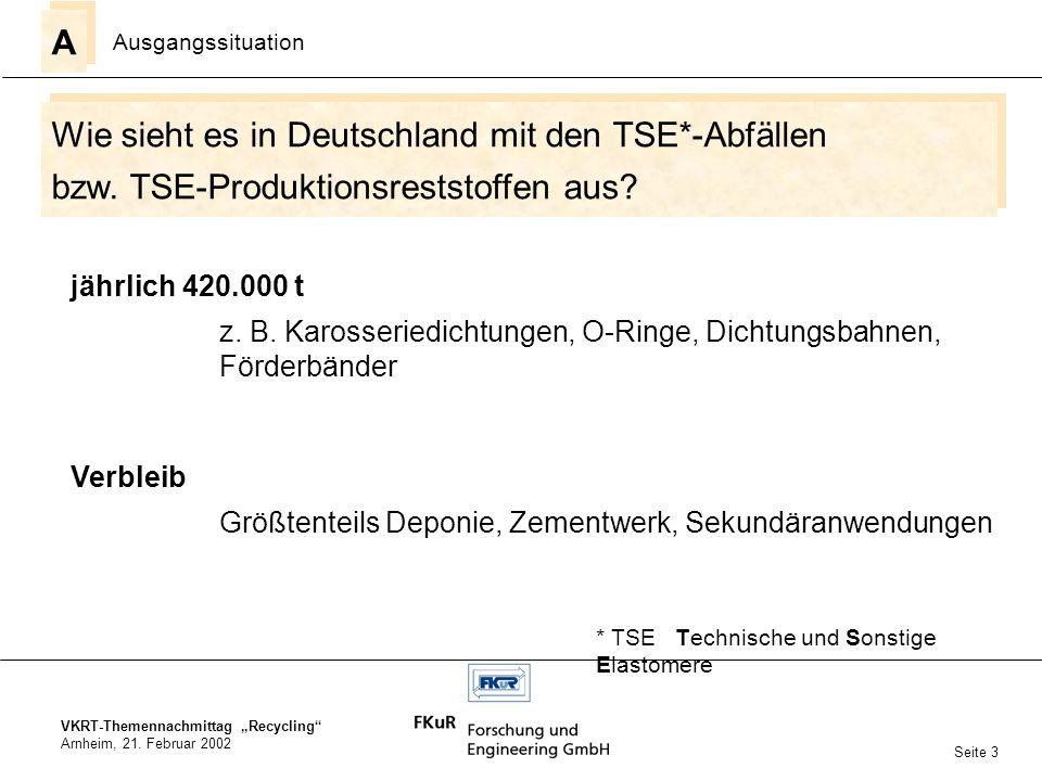 Wie sieht es in Deutschland mit den TSE*-Abfällen