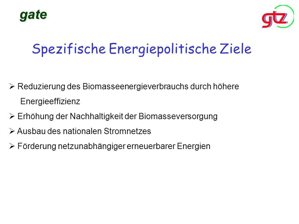 Spezifische Energiepolitische Ziele