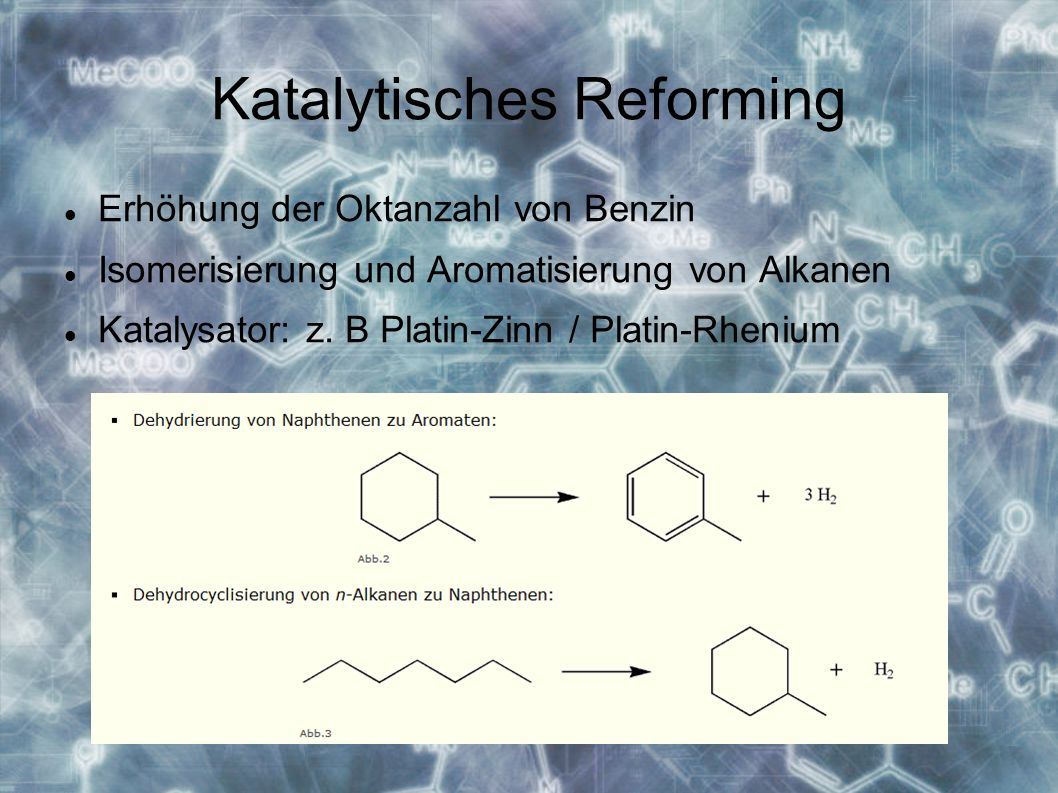 Katalytisches Reforming