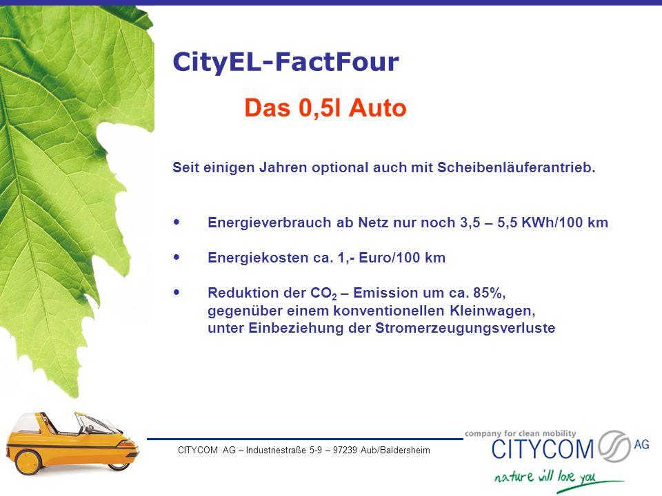 CityEL-FactFour Das 0,5l Auto