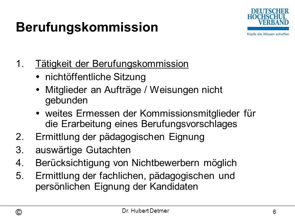 Berufungskommission Tätigkeit der Berufungskommission