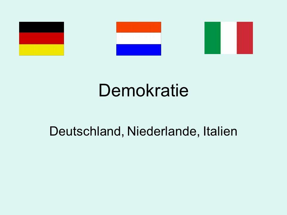 Deutschland, Niederlande, Italien