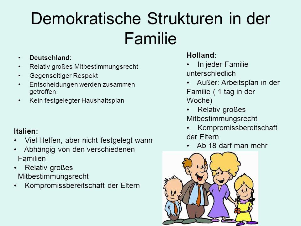 Demokratische Strukturen in der Familie