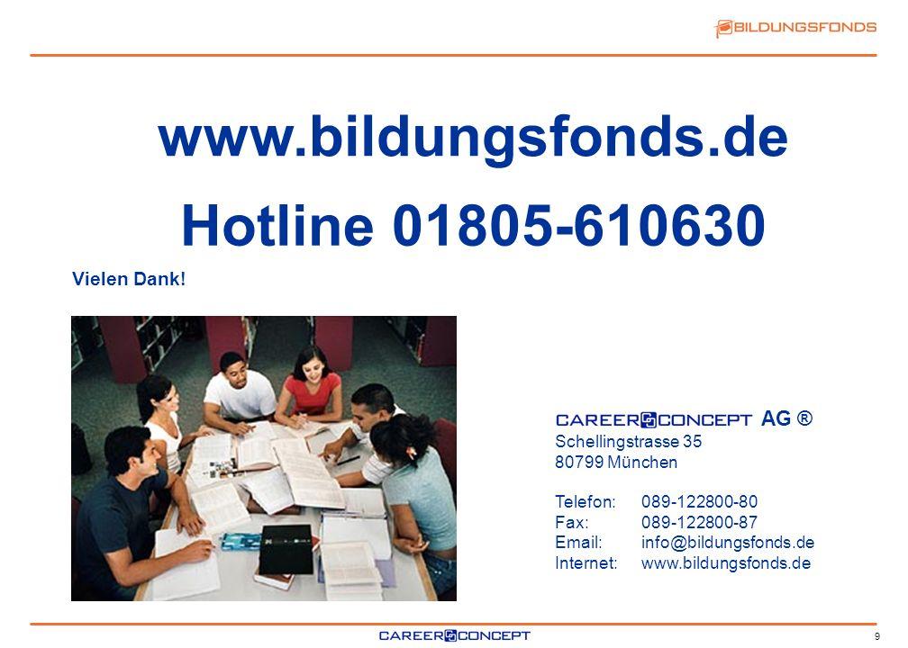 www.bildungsfonds.de Hotline 01805-610630