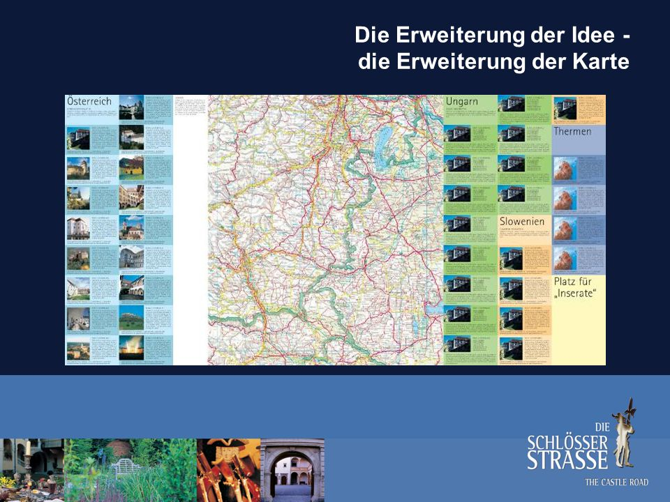 Die Erweiterung der Idee - die Erweiterung der Karte