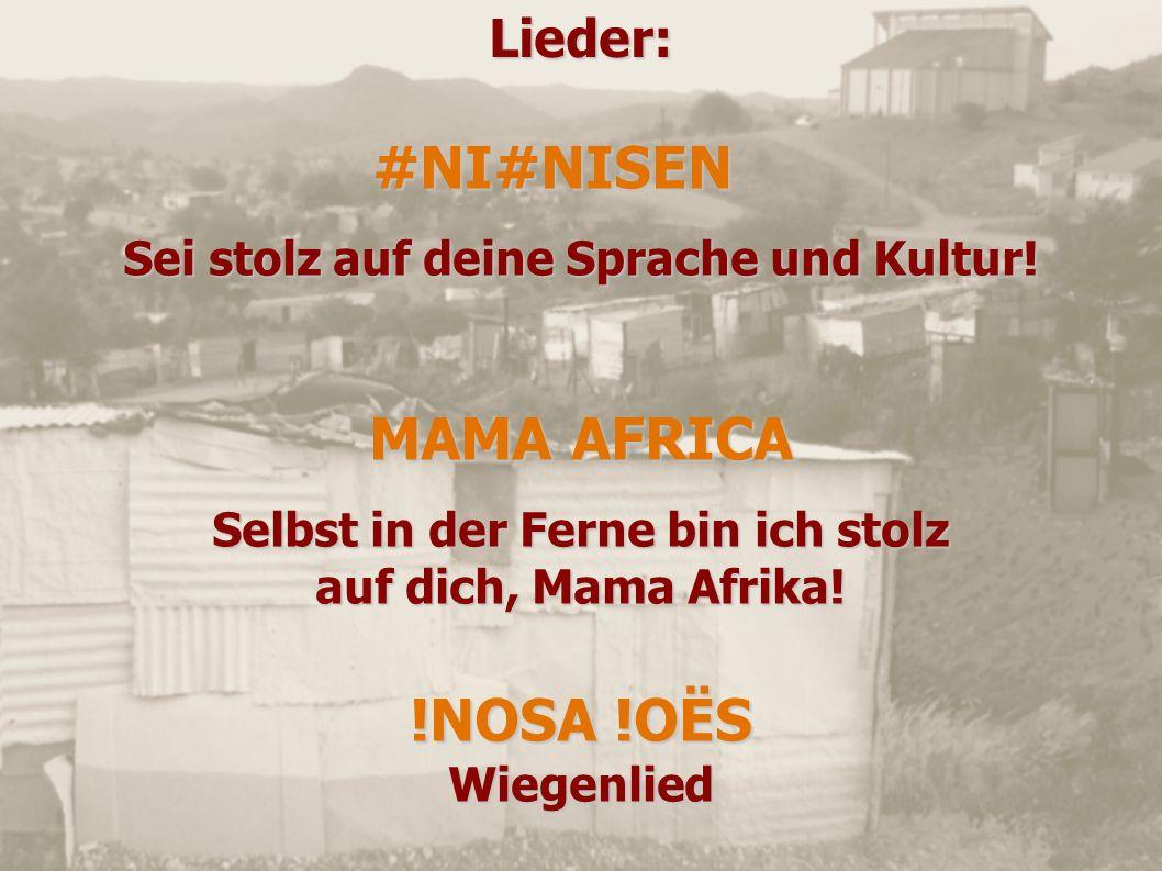 #NI#NISEN MAMA AFRICA !NOSA !OËS