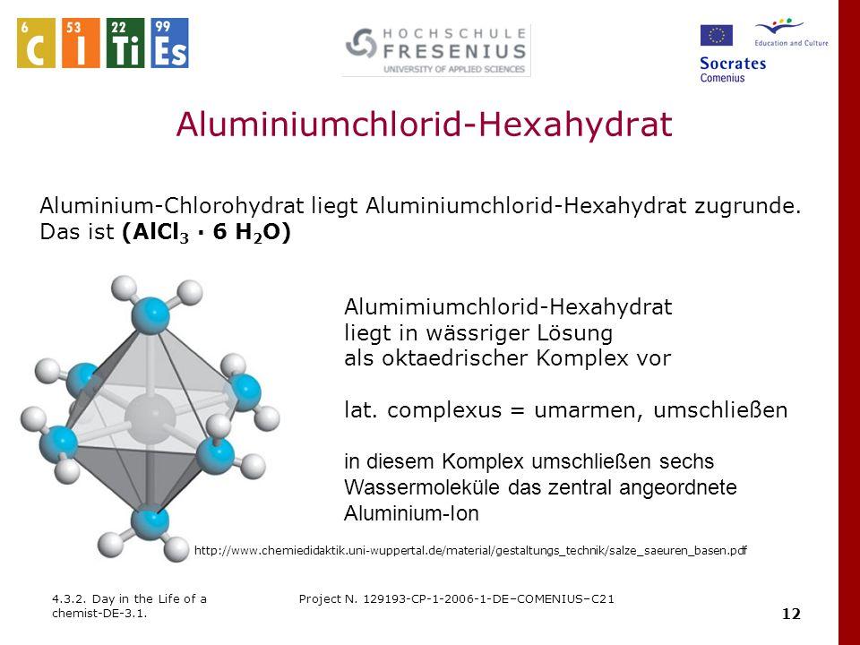 Aluminiumchlorid-Hexahydrat