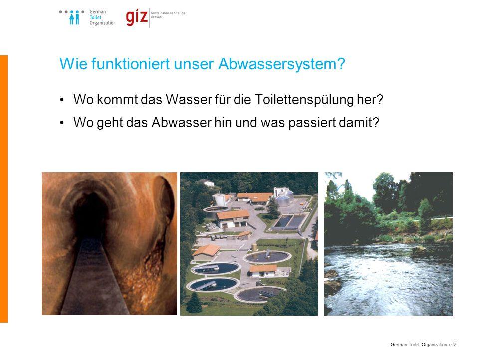 Wie funktioniert unser Abwassersystem