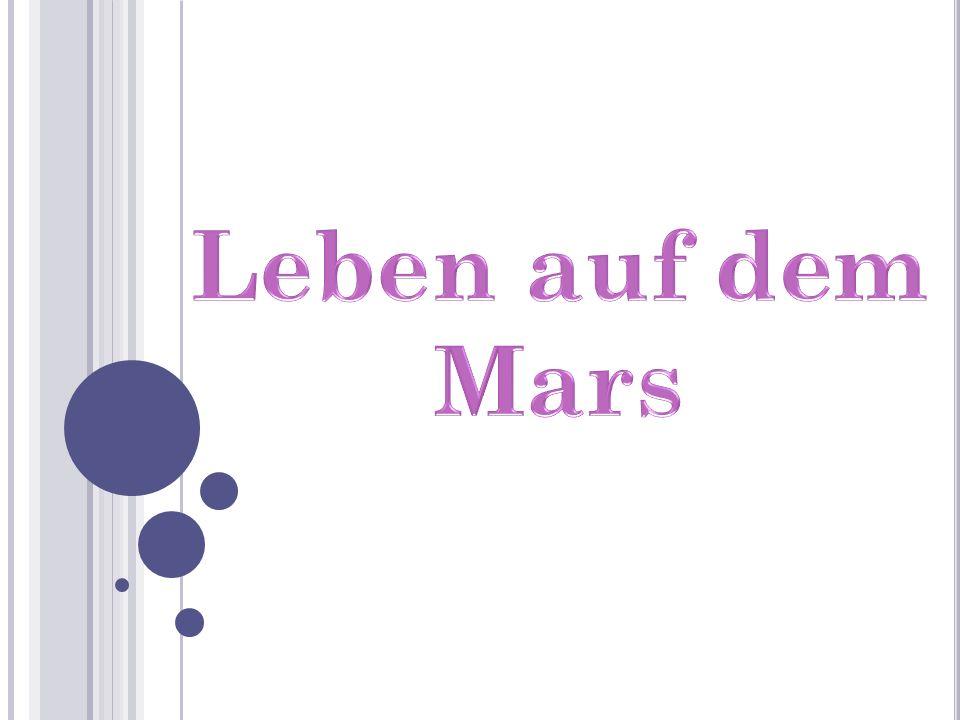 Leben auf dem Mars