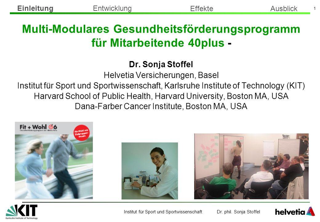 Multi-Modulares Gesundheitsförderungsprogramm